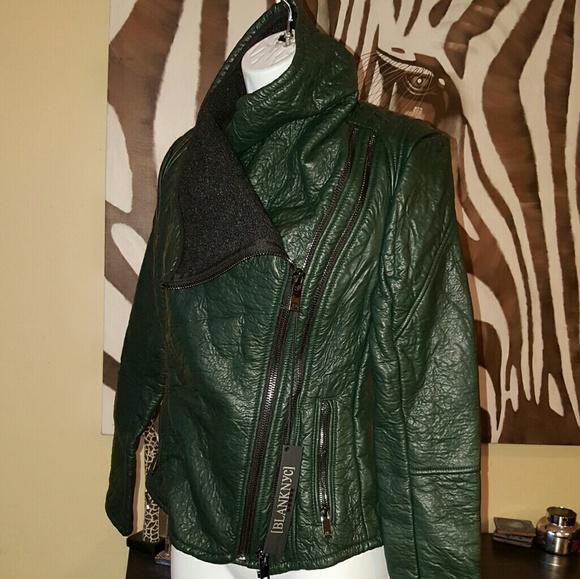 BLANKNYC Blank NYC Women/'s Vegan Leather Moto Jacket Choose SZ//Color